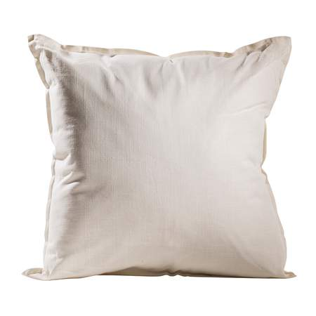 Ivory Solid Pillow