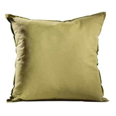 Moss Green Solid Pillow
