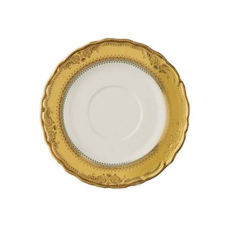 Vanessa Gold Rim China - Coffee Saucer