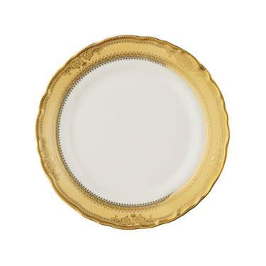 Vanessa Gold Rim China - Salad Plate