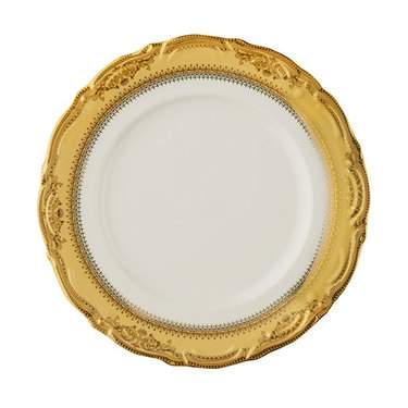 Vanessa Gold Rim China - Dinner Plate
