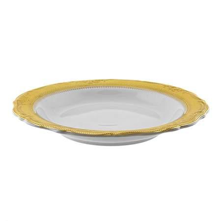 Vanessa Gold Rim China - Soup Bowl