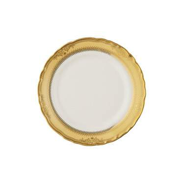 Vanessa Gold Bread and Butter Plate 7""