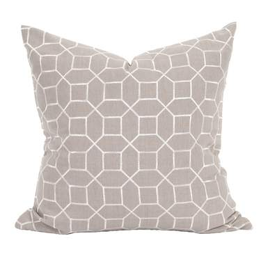 Trellis Slate Pillow
