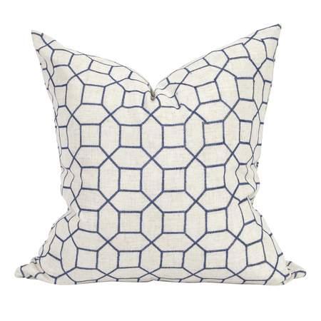 Trellis Indigo Pillows