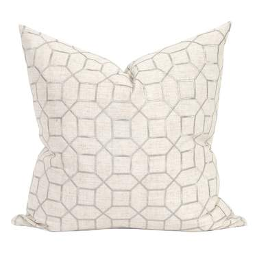 Trellis Natural Pillow