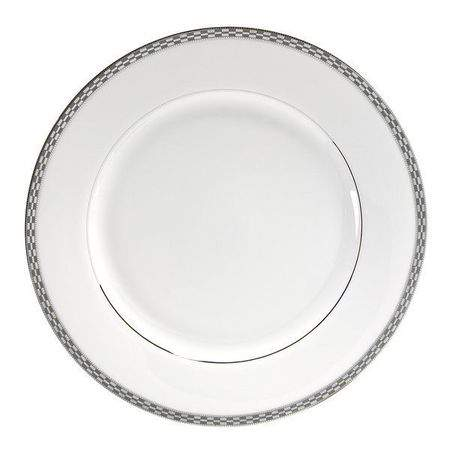 """Athens with Platinum Edge Dinner Plate 10.25"""""""