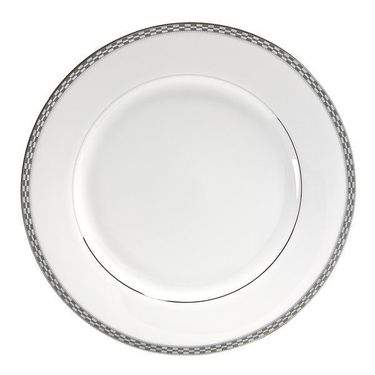 Athens with Platinum Edge Dinner Plate 10""