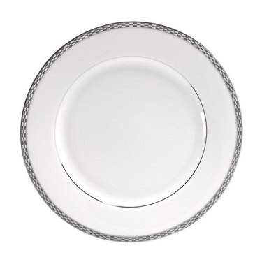 Athens with Platinum Edge Dinner Plate 9""