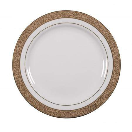 """Majestic Gold Dinner Plate 10.5"""""""