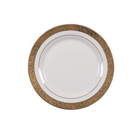 """Majestic Gold Lunch Plate 9"""""""