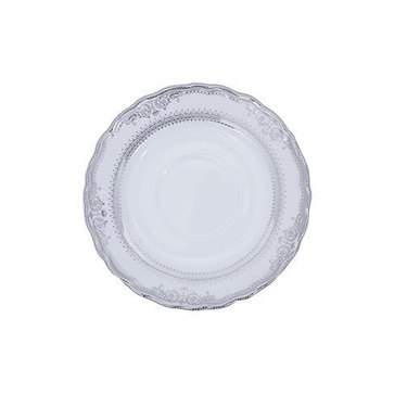 Vanessa Platinum Rim China - Coffee Saucer
