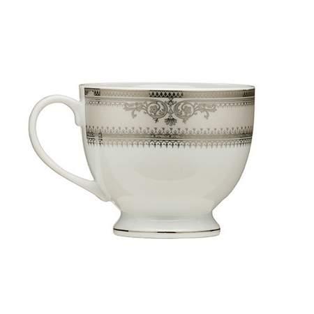 Vanessa Platinum Rim China - Coffee Cup