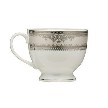 Vanessa Platinum Rim China - Coffee Cup