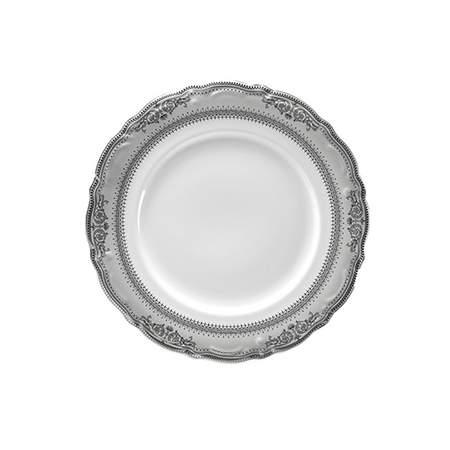 Vanessa Platinum Rim China - Salad Plate