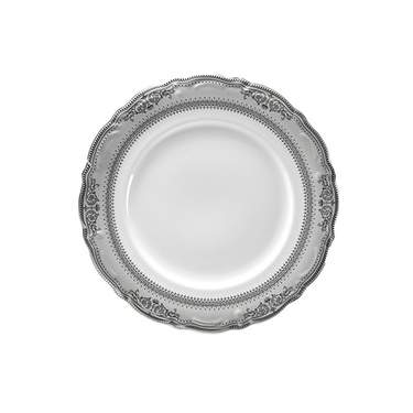 Vanessa Platinum Rim China - Salad Plate