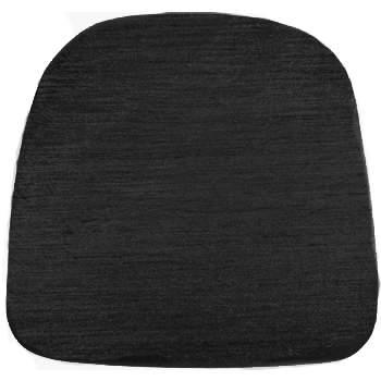 Chiavari Cushion Shantung Black
