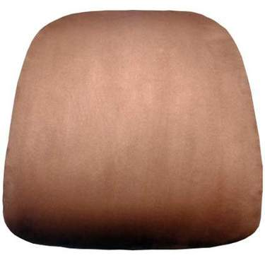 Chiavari Cushion Chestnut Suede