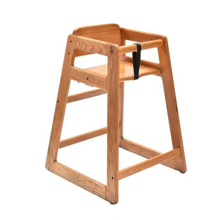 Children's High Chair Natural