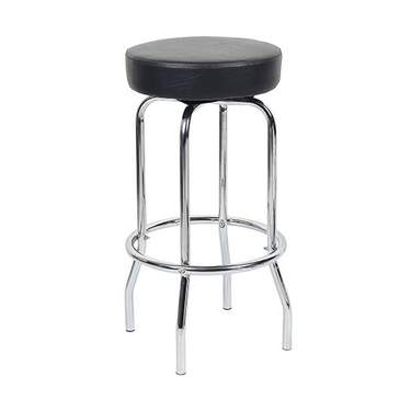 Backless Barstool Chrome