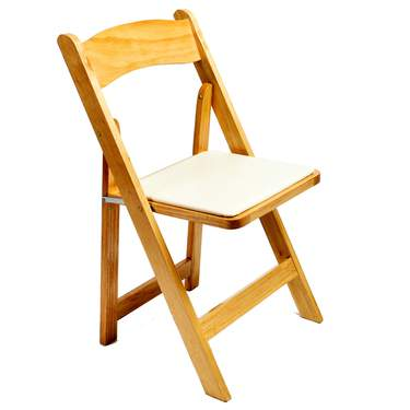 Wood Folding Chair Natural