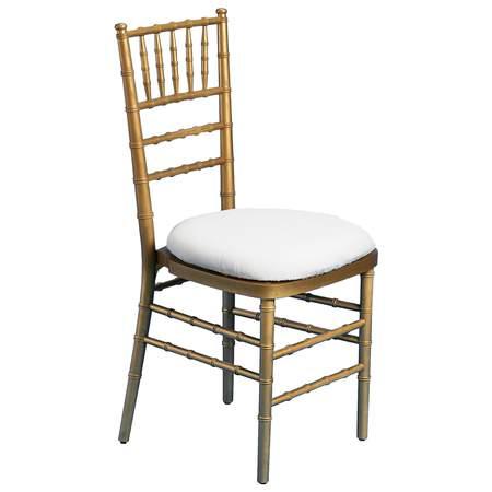 Chiavari Chair Resin Gold