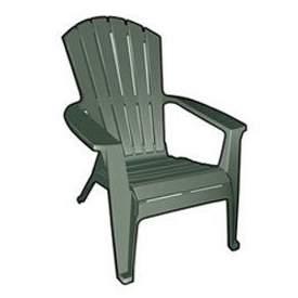 Adirondack Lawn Chair Green