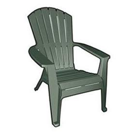 Adirondack Lawn Chair Green