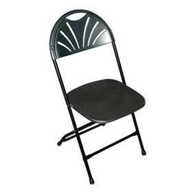 Folding Chair Contour Select Black