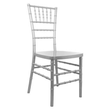 Silver Chiavari Children's Chair Rental Chair