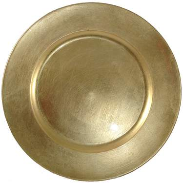 Gold Melamine Charger