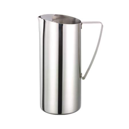 Chrome Cylinder Pitcher 64oz