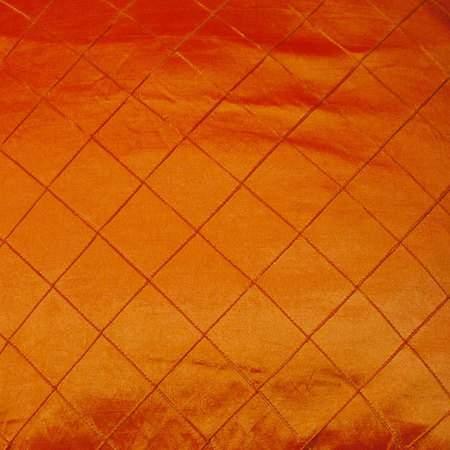 "Pintuck 2"" Fire Orange"