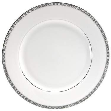Athens with Platinum Edge Chop Plate 12""