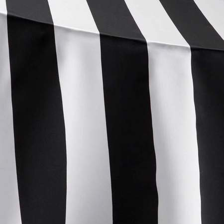 Lamour Stripe Black & White