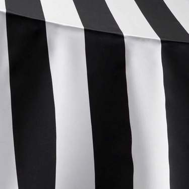 Lamour Stripe Black & White