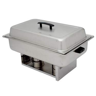 Chafer 8 qt Stainless Steel Rectangle