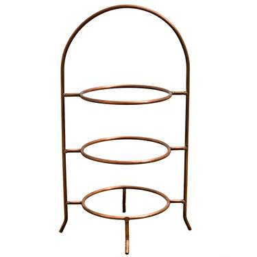 3-Tier Copper Stand 20.5""