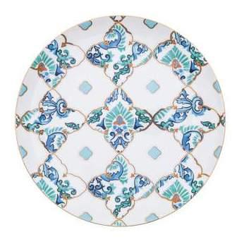 00DD - CHINA AMALFI DINNER PLATE 10.5IN