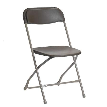 Folding Samsonite Chair Grey