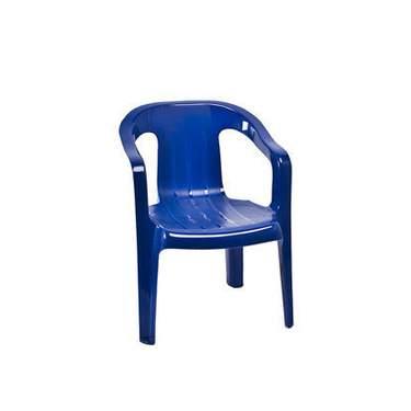 Children's Blue Plastic Chair