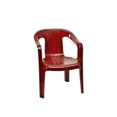 Children's Red Plastic Chair