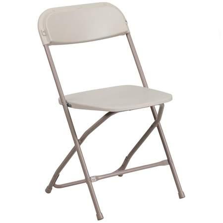 Folding Putty Samsonite Chair