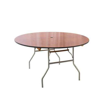 Umbrella Wood Table 48""