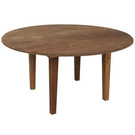 """Farm Table 66"""" Round"""