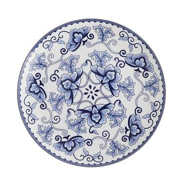 "Corsica Blue China - 8"" Salad Plate"