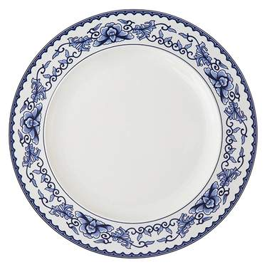 """Corsica Blue China - 12"""" Charger"""