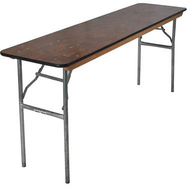 "Banquet Table 6' x 18"" Classroom Table"