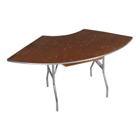 "Serpentine Table 7' x 30"""