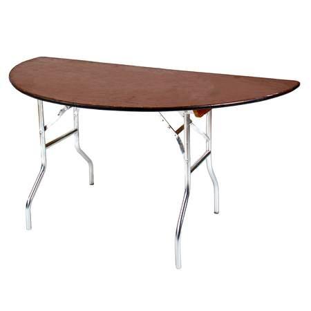 "Table Half Round 60"""